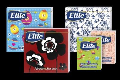 Servilletas y pañuelos desechables Elite | <span>CMPC<span>