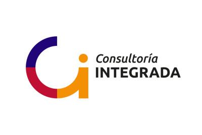 Logotipo y aplicaciones Consultoría Integrada | <span>Consultoría Integrada<span>
