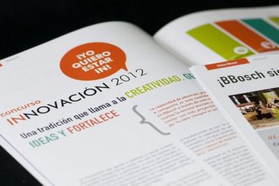 Revista interna «Pasarela» | <span>BBosch<span>