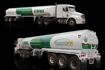 Branding camión Oleotop | <span>Agrotop<span>