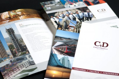 Brochure corporativo | <span>Cruz y Dávila<span>